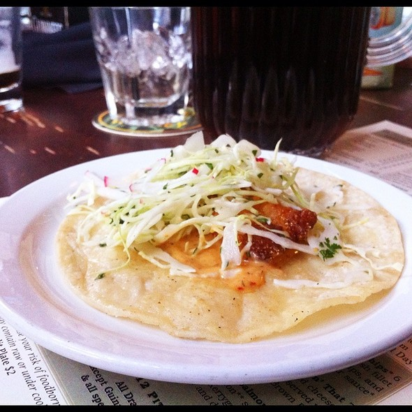 Fish Taco @ de Vere's Irish Pub