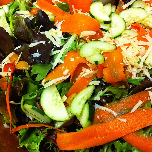 House Salad @ Wild Plum Cafe & Bakery
