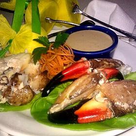 Stone Crab - Seagar's Restaurant, Destin, FL