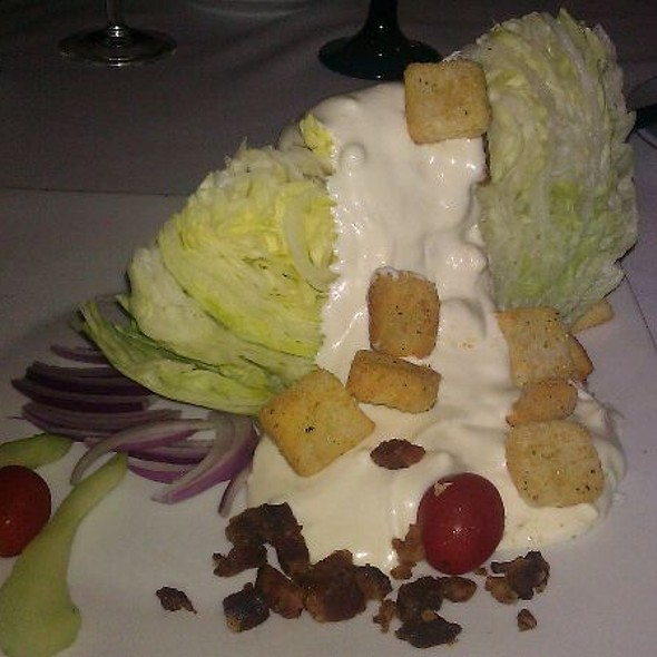 Wedge Salad - Seagar's Restaurant, Destin, FL