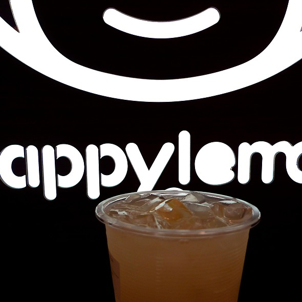 Lemon with Aloe Drink @ Happy Lemon