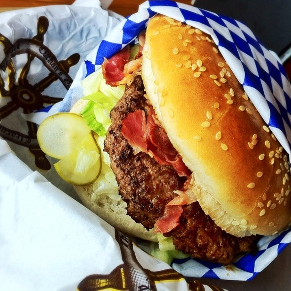 Pastrami Burger @ Clearman's Galley