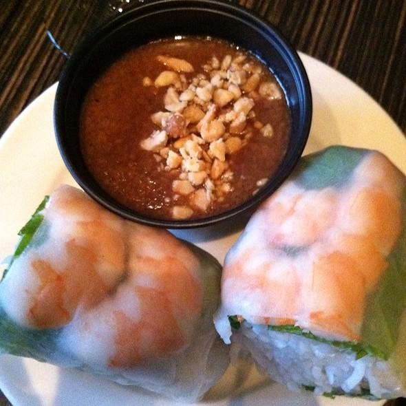 Shrimp Spring Rolls @ Luc Lac Vietnamese Kitchen