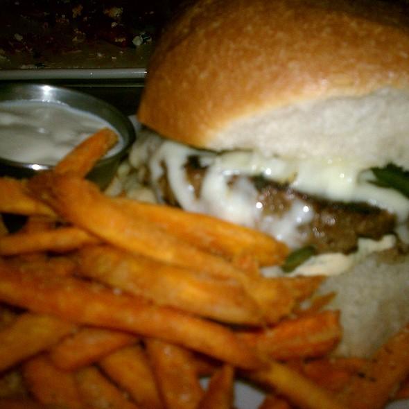 Green Chile Cheese Burger @ Jack Allen's Kitchen