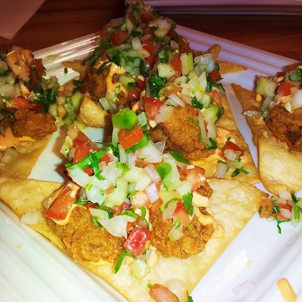 Oyster Nachos @ Cajun Kitchen