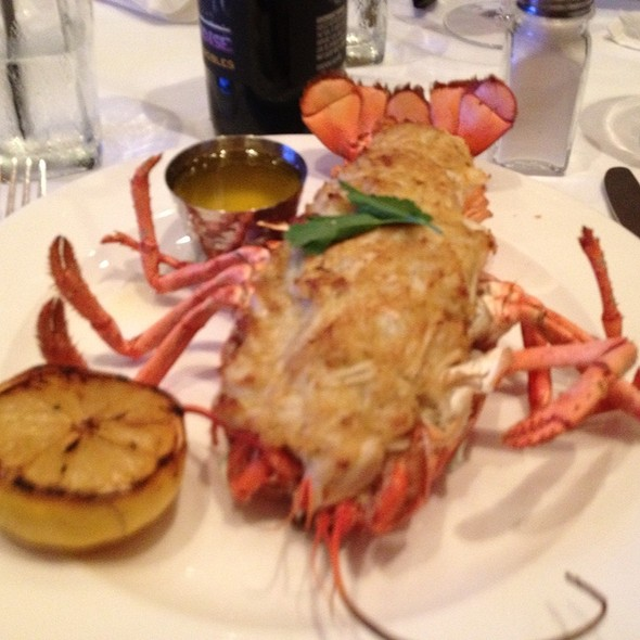 Crab Stuffed Lobster - Donato's Restaurant, Pittsburgh, PA