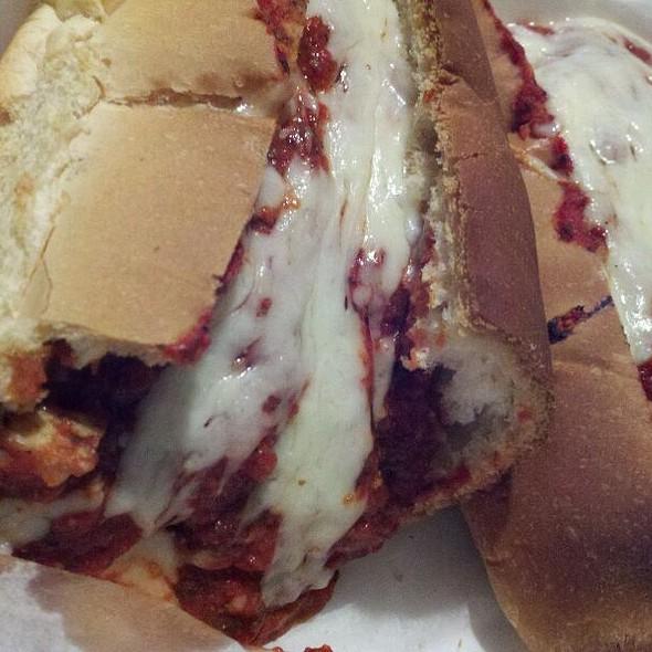 Chicken Parm Sandwich @ Hank's Pizza