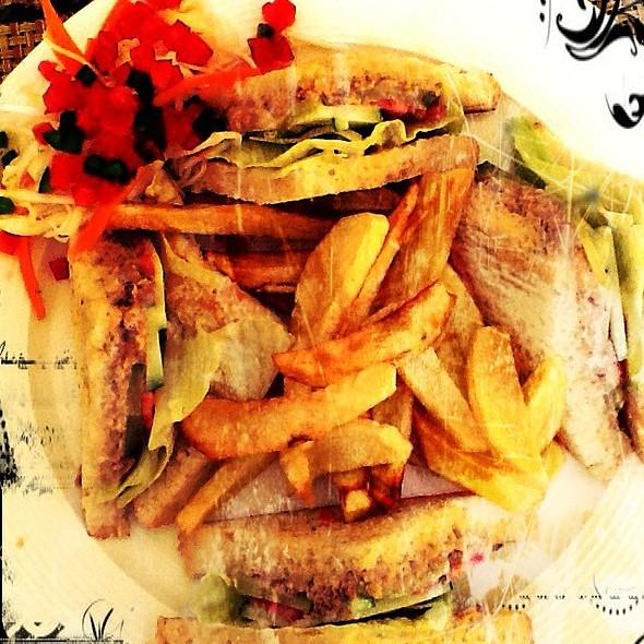 Tuna Mayo Sandwich @ Yami Yami Garden Restaurant