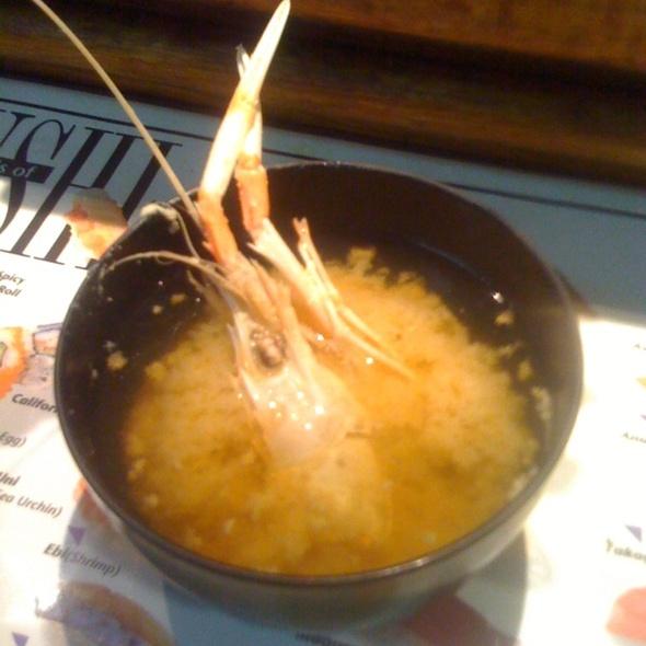 Scampi Miso Soup @ Sushi Masa