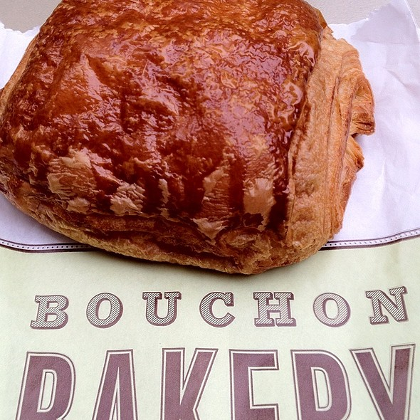 Chocolate Croissant @ Bouchon Bakery