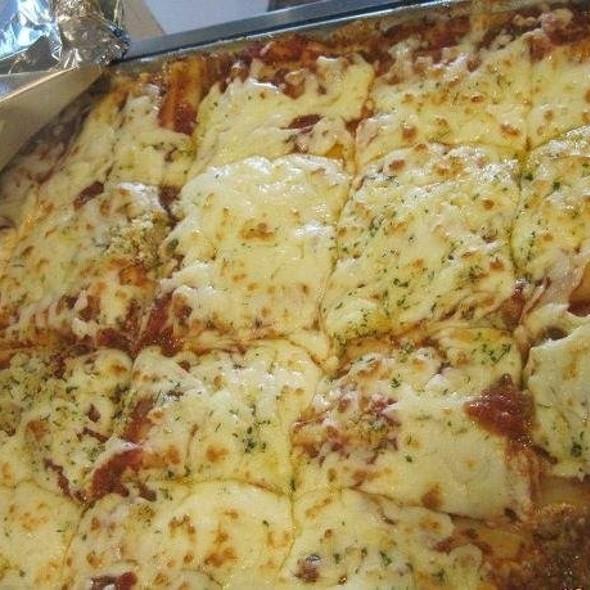 lasagna @ Joseph's Pizza