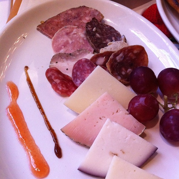 Assorted Meats And Cheeses
