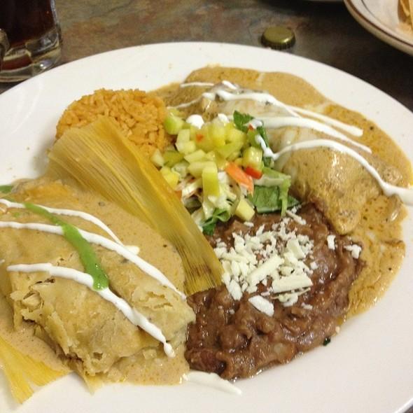 Enchilada @ La Cueva Mex Grill