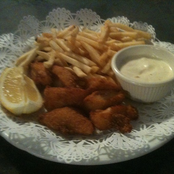 fish n chips @ On the Waterfront Cafe
