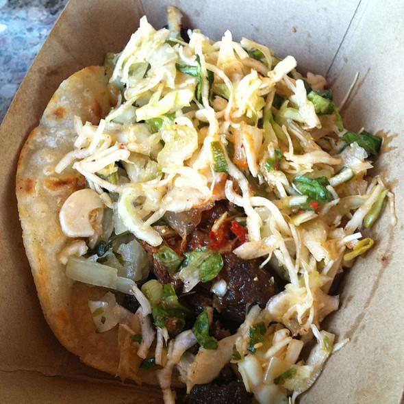 Korean Short Rib Tacos