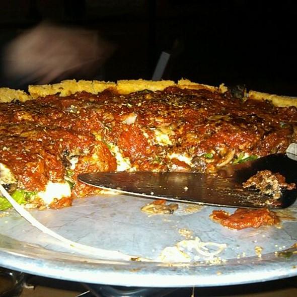 Blue Line Deep Dish @ Blue Line Pizza
