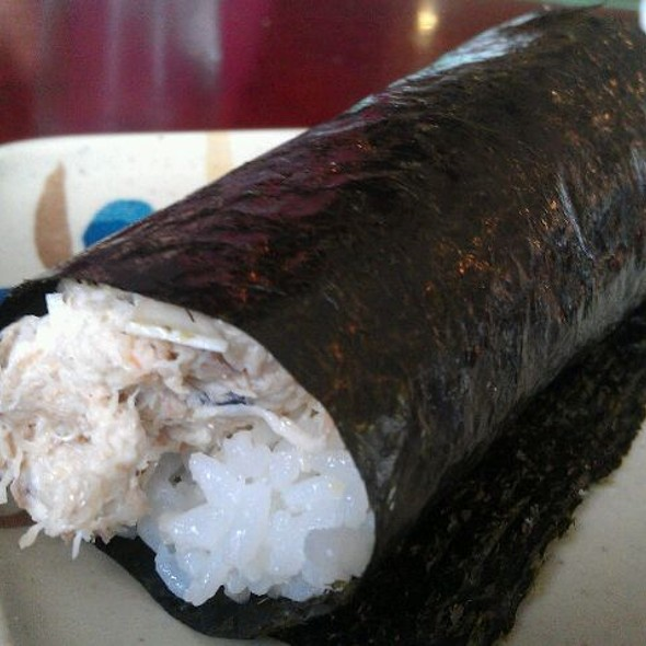 Blue Crab Hand Roll @ Sushi Sasabune