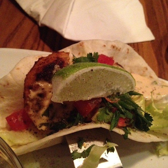 fish tacos @ Original Joe's Restaurant & Bar