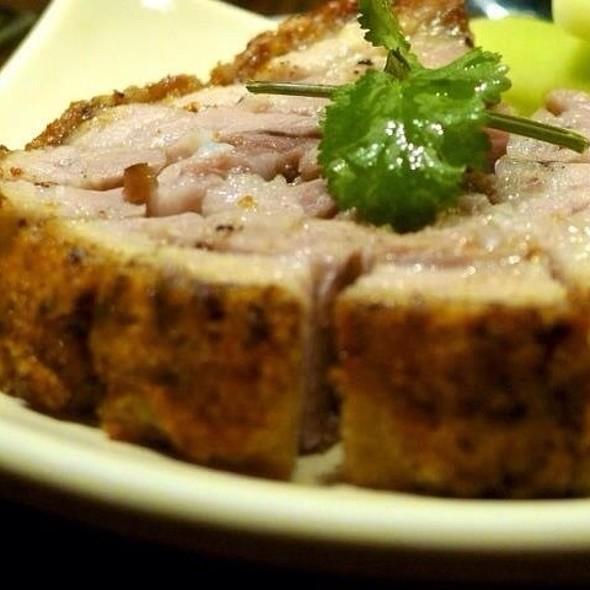 Signature Roast Pork Belly @ Teahouse The Asian Kitchen