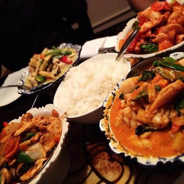 Seafood Choo Chee Curry @ Teak Thai