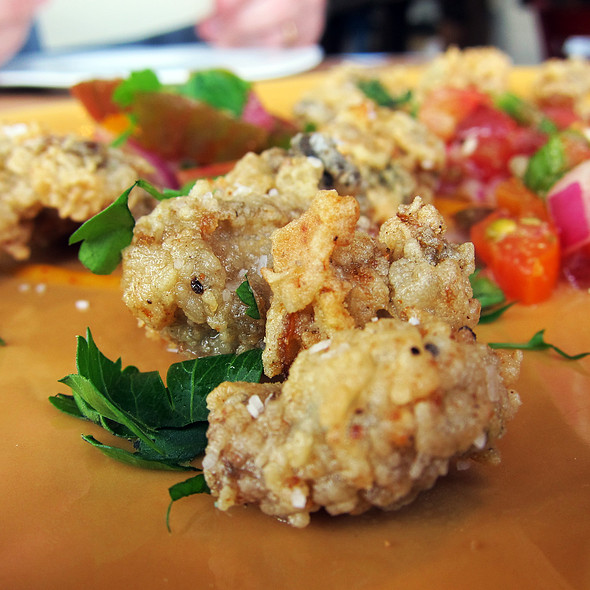 Deep Fried Oysters @ Boca Kitchen Bar and Market