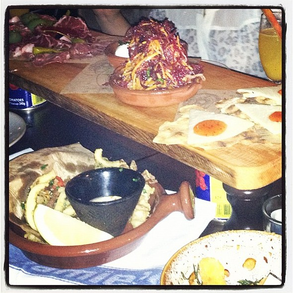 Antipasti Platter @ Jamie's Italian
