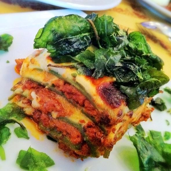"""LasagnaVerde """"Omaggio Nonna Elvira"""" @ Angelini Osteria Restaurant"""