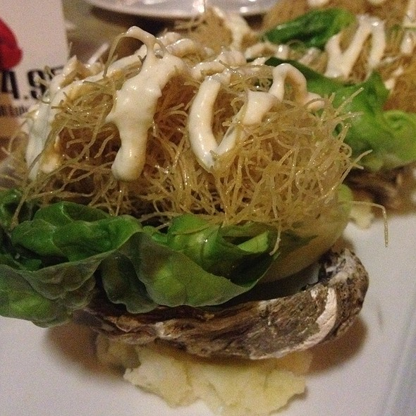 Crisp Phyllo Crusted Oysters - Amelia's Bistro - New Jersey, Jersey City, NJ