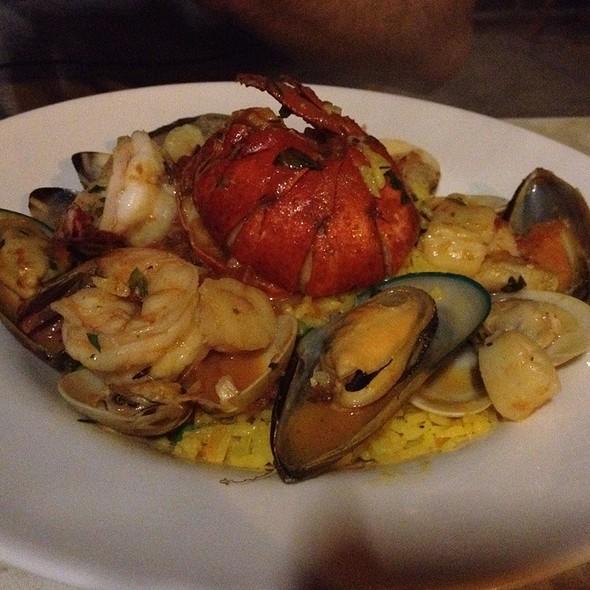 Seafood Paella - Amelia's Bistro - New Jersey, Jersey City, NJ