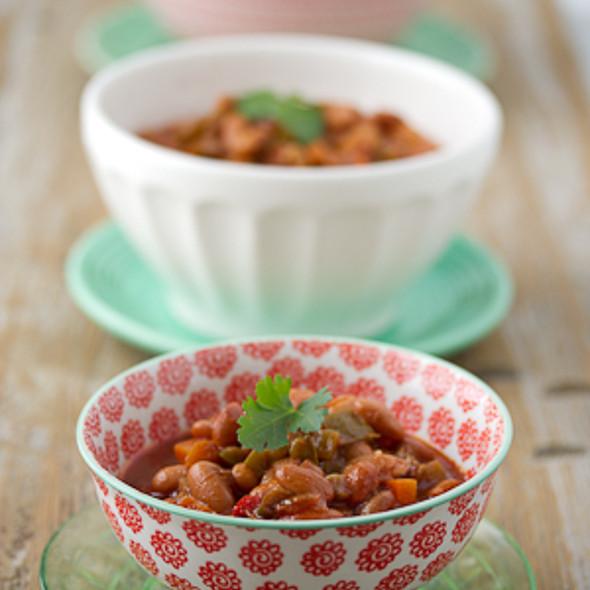 Vegetarian Slow-Cooker Chili
