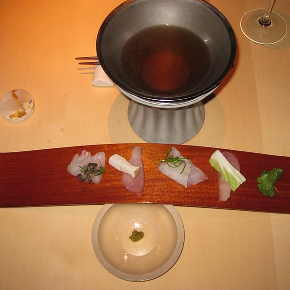 Sashimi Tasting @ L20