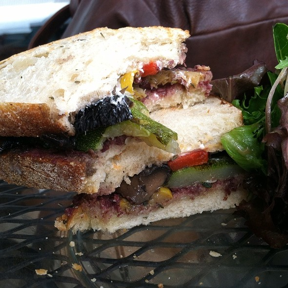 Grilled Vegetable Sandwich @ Blackbird Coffee