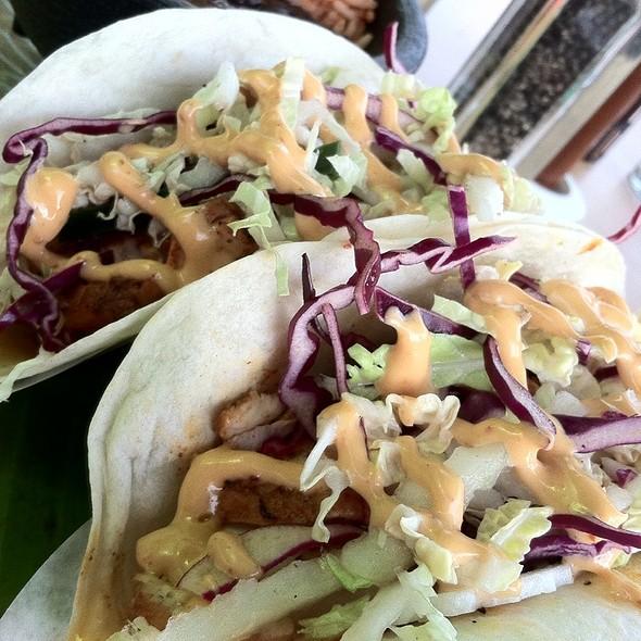 Baja Pescado Taco @ Verde Mexican Kitchen & Cantina