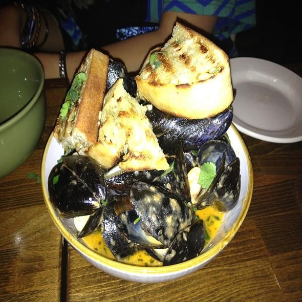 Mussels Charmoula @ Senate Restaurant