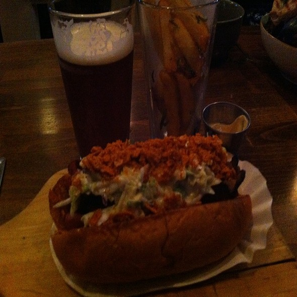 Trailer Park Hotdog @ Senate Restaurant