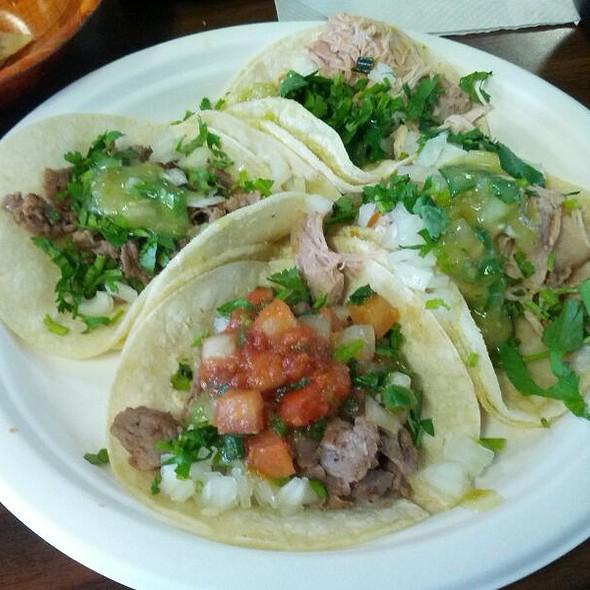 Chicken & Beef Taco Special @ Los Cabos Restaurant