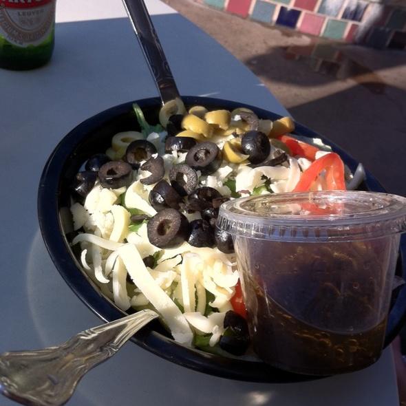Greek Salad @ Fellini's Pizza