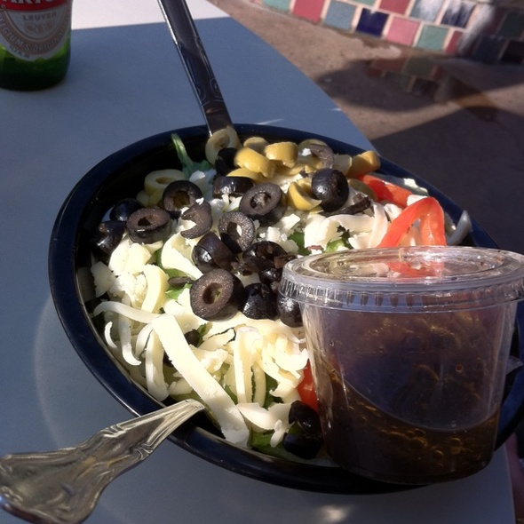 Greek Salad @ Fellini's Pizza