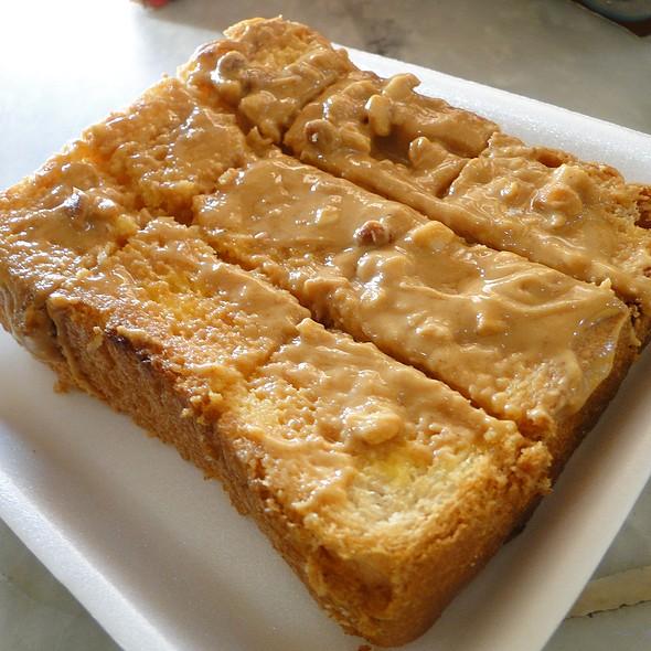 Kaya Toast With Peanut Butter @ Kopi Roti