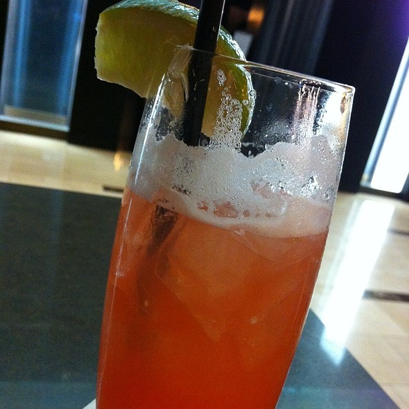 Hurricane Cocktail @ Hyatt Regency New Orleans