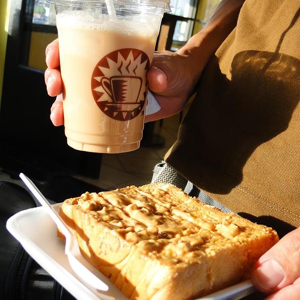 Kaya Toast And Teh Tarik @ Kopi Roti