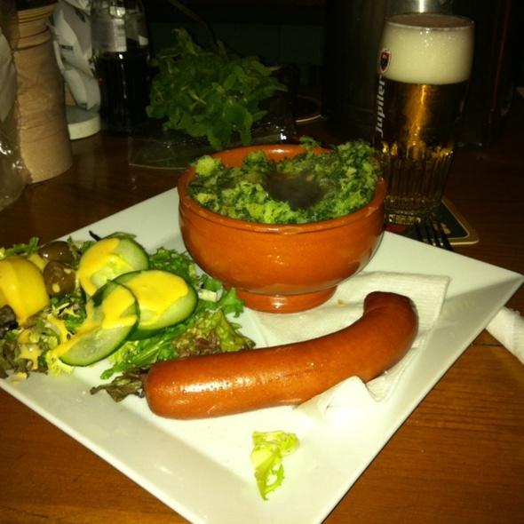 Boerenkool met Worst @ Café De Blauwe Pan