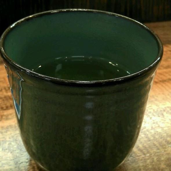 Green Tea @ Maguro Zanmai