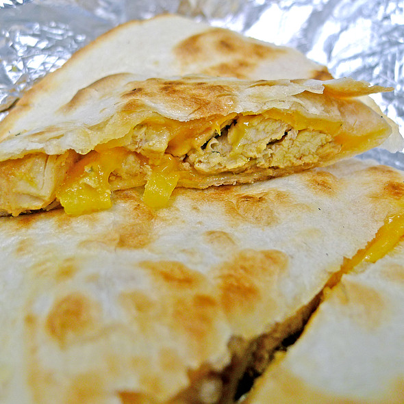 John Coctostan Chicken Quesadilla