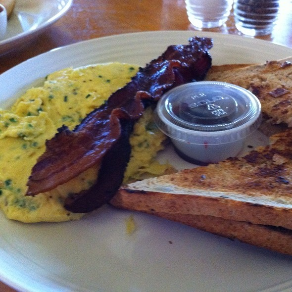 French Scrambled Eggs With Bacon @ Essence Bakery Cafe