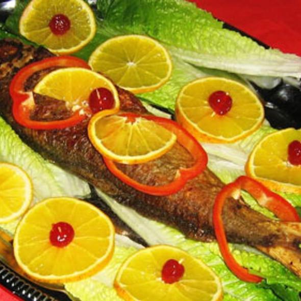 Fish @ Mayette's famous restaurant