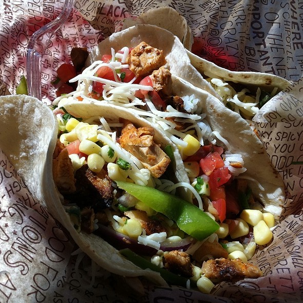 Chicken soft taco @ Chipotle Mexican Grill
