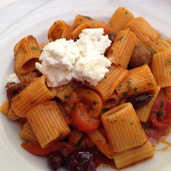 Rigatoni With Spicy Lamb Meatballs - I Trulli, New York, NY