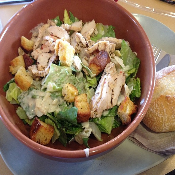 Grilled Chicken Ceaser Salad @ Panera Bread