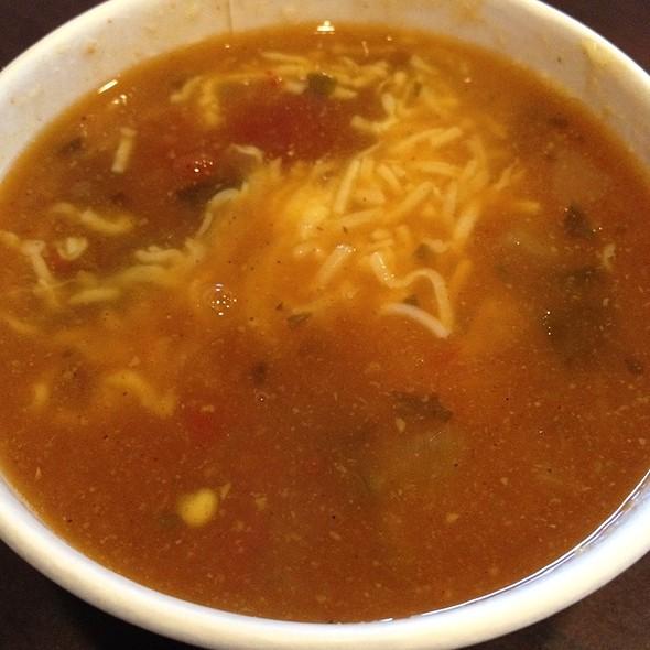 Tortilla Soup @ qdoba mexican grill